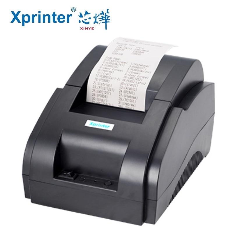 Mini 58mm Thermal Ticket Printer Thermal 58mm Pos Printer USB Interface 58mm Pos Receipt Printer Restaurant Bill Printer gp 58mb 58mm usb pos thermal sensitive receipt printer bill printing machine black