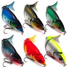 popular Multistage Seawater / Freshwater 3D Fishing Tools 5 sections sea fishing Lure bait 125mm 20 g Hard Baits