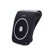 цена на Bluetooth Car Handsfree Speaker Sun Visor Bluetooth Car Kit Support Wireless Phone Music Player Voice Dialing Bluetooth Player