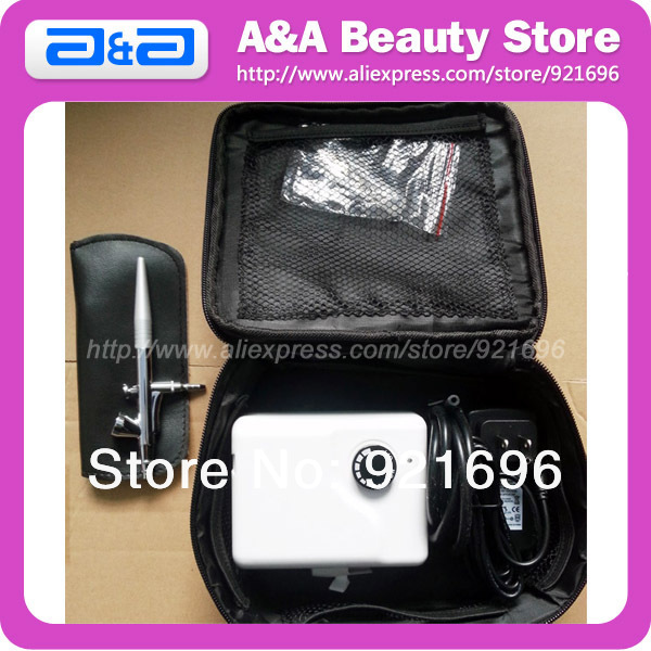 Airbrush Make Up / Beauty Compressor With Bag, Airbrush Beauty System, Piston Mini Airbrush Compressor тушь make up factory make up factory ma120lwhdr04
