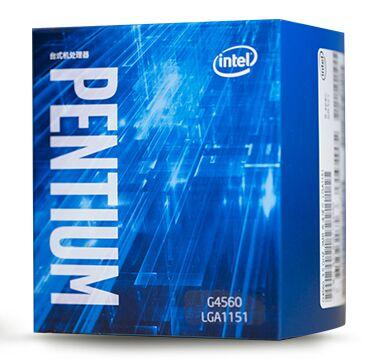 Intel original Pentium G4560 процессор 3 МБ Кэш 3,50 ГГц LGA1151 двухъядерный Настольный ПК Процессор G 4560 коробка verison С охладитель