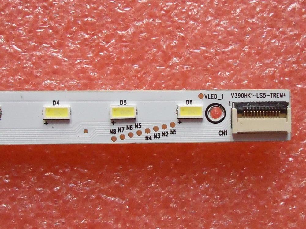 Free shipping New 5Piece LE39A700K 4A D069457 V390HK1 LS5 V390HJ1 LE1 LED backlightb bar V390HK1 LS5