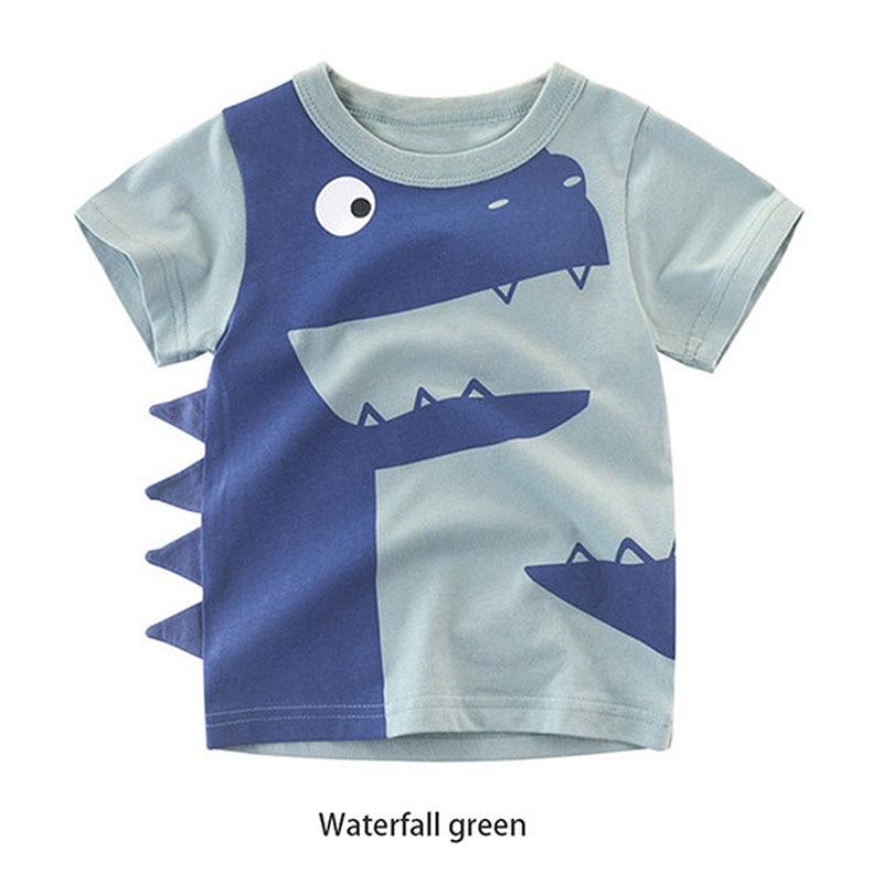 Blue Seven Baby Jungen T-Shirt Krokodil khaki