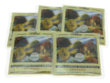 5 Sets Alice Clear Nylon Classical Guitar String Hard Tension Set of 6 Guitar Strings