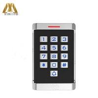 Ücretsiz Kargo M18 kart okuyucu Erişim Kontrol Sistemi Için Wiegand26 RFID kart okuyucu IP65 Su Geçirmez Kart Erişim Okuyucu|reader rfid|reader cardreader access control -