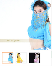 Egypt Belly dance veil indian dance props supplies phoeni veil chiffon material 9 multiple colors free shipping костюм dance supplies