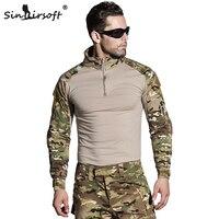 Армейская камуфляжная армейская форма sinстрайкбольного типа, армейская рубашка, карго, Мультикам, страйкбольный Пейнтбол, с Локоть