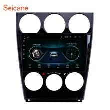 Seicane Android 8,1 Автомобильный gps мультимедийный плеер для старой Mazda 2004- 6 поддержка управления рулевым колесом OBD2 Carplay DVR