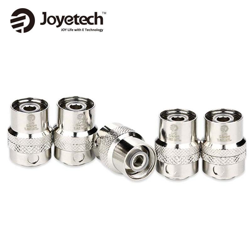 5pcs/Lots Joyetech LVC Clapton MTL Coil Head For Cubis/Cubis Pro/eGO AIO/D16/D22 Atomizer 1.5ohm Wholesale Price For Option