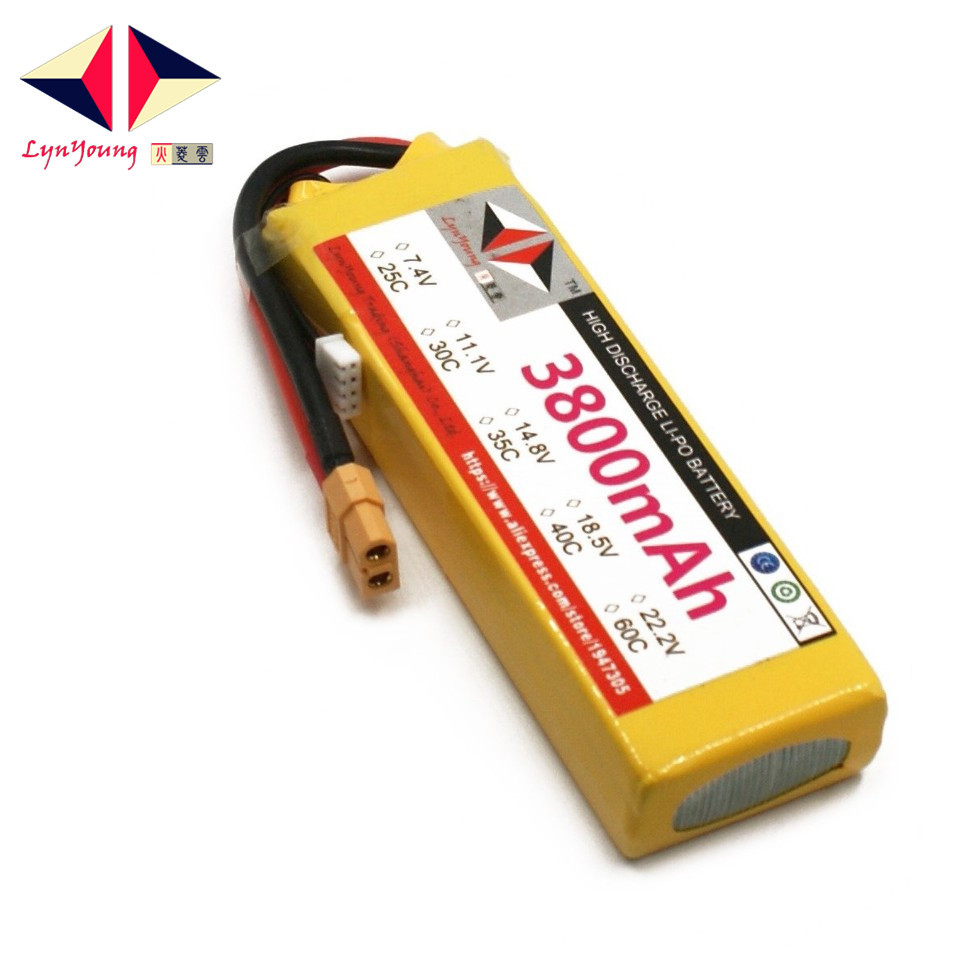 3s Lipo Us 26 67 22 Off Lynyoung Rc 3s Lipo Battery 11 1v 40c 3800mah For Helicopter Quadrotor Airplane Motorbike In Parts Accessories From Toys Hobbies