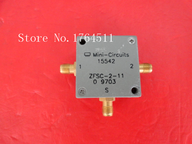 [BELLA] A Two Mini Power Divider ZESC-2-11 SMA