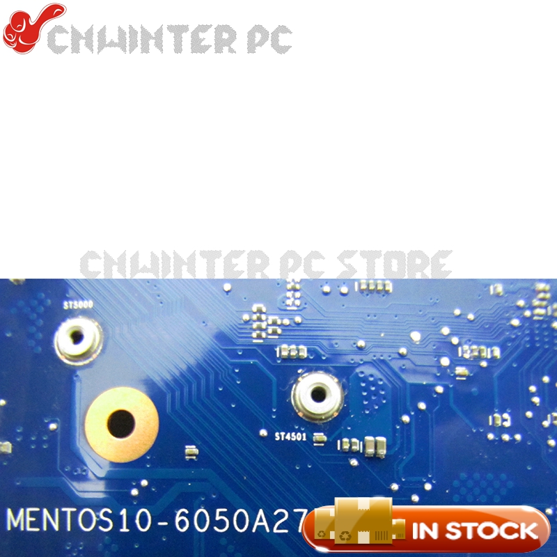 NOKOTION 827684-001 MENTOS10-6050A2731601-MB-A01 For HP 14-AF Laptop Motherboard A6-6310 CPU Radeon R5 M330 Video card