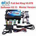 Самые Популярные Ktag К-тег ЭКЮ Программист Ktag Мастер V6.070 K Tag SW V2.13 OBD2 ЭКЮ Чип-Тюнинг Инструмент Нет Жетоны Ограничение ECM Titanium 1.6