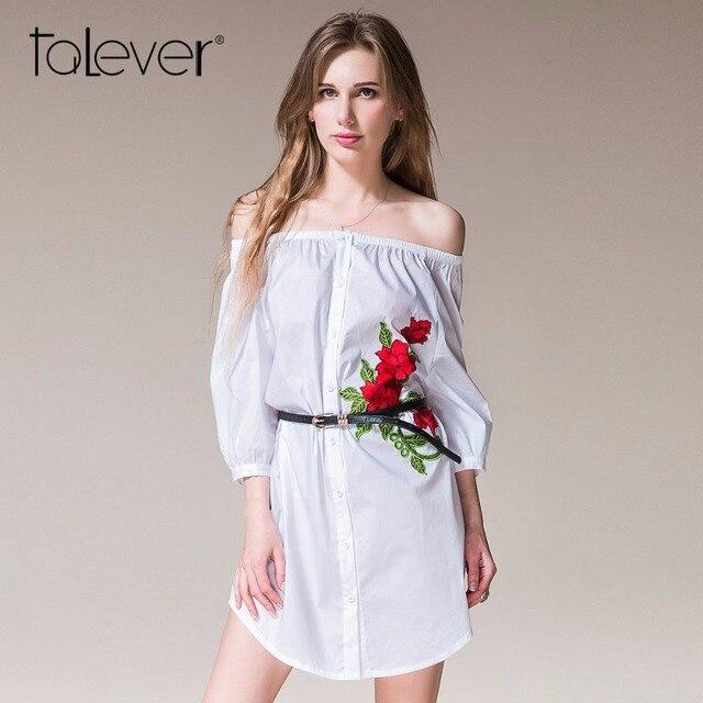 36b21fa7c 2017 mujeres Casual moda camisa blanca dos tipos de diseño de vestir  elegante vestido de negocios