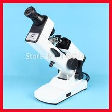Оптический lensmeter ручной линзометр(фокусометр) внутренний считывающий призматический блок в комплекте