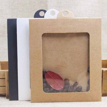 Buy greeting card display and get free shipping on aliexpress 10pcs diy kraftwhiteblackpink candy gift dispaly package box with m4hsunfo