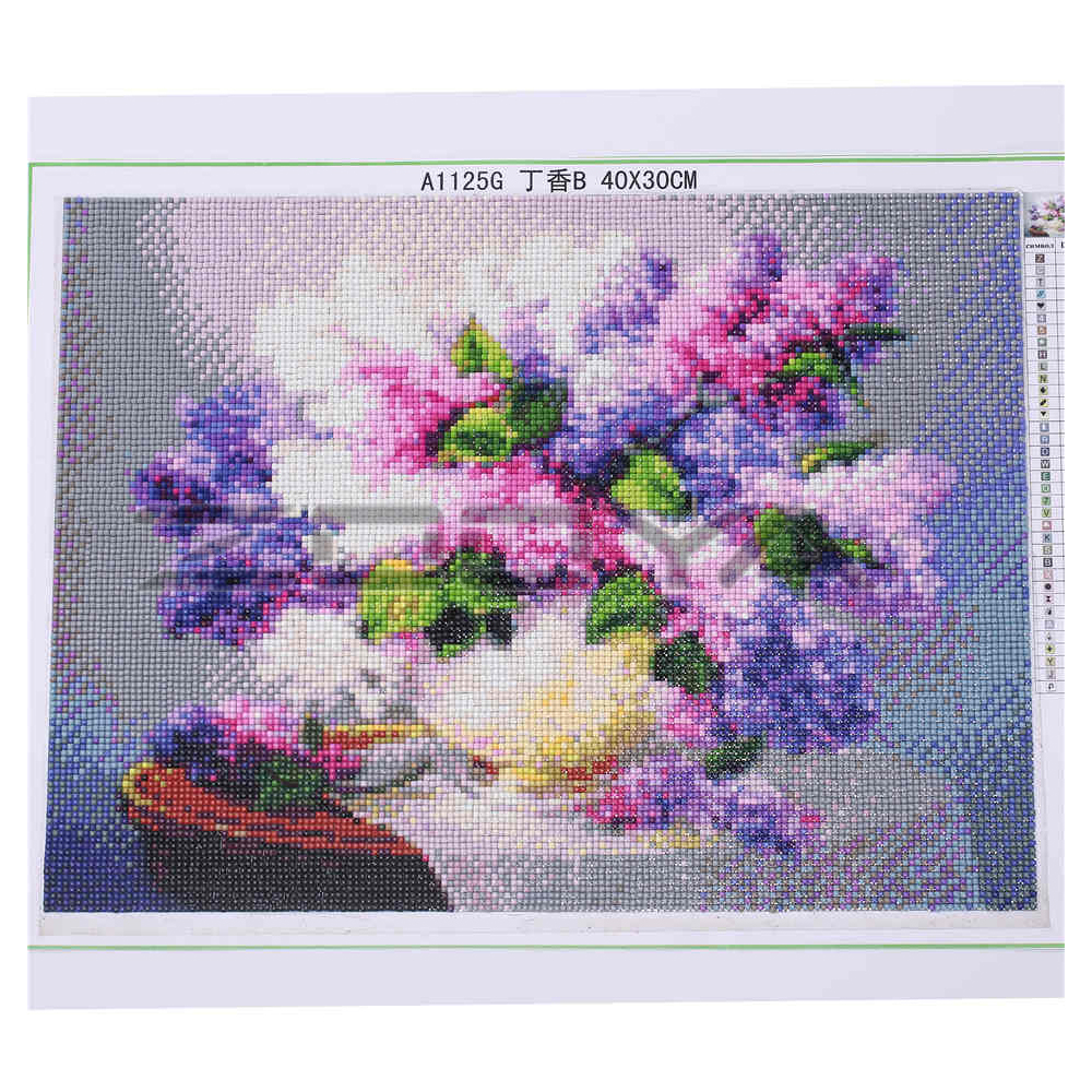 5D DIY Diamond Embroidery Painting Cross Stitch Mountain Houses Home Decoration Full Mosaic Crafts 3d Kit For Needlework BJ280 in Diamond Painting Cross Stitch from Home Garden