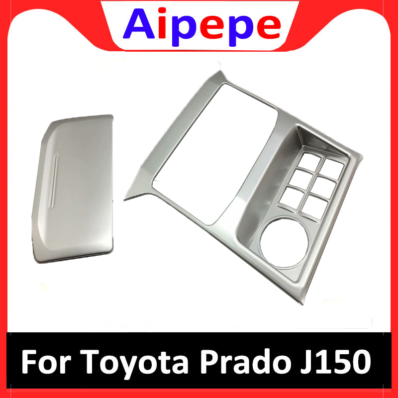 For Toyota Land Cruiser Prado FJ150 150 2018 Four wheel Drive Switch Button Cover Trims ABS Chrome Car Styling Accessories|Chromium Styling|   - title=