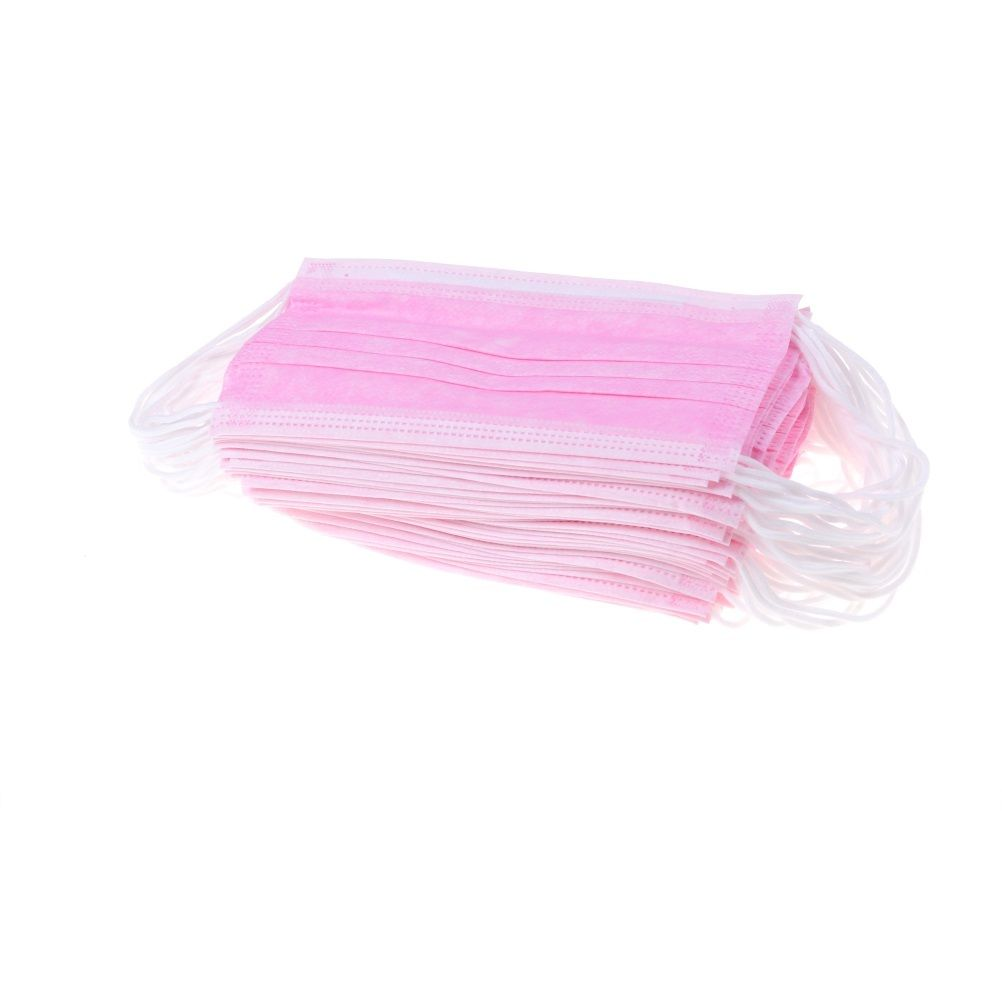 1/5/10/50PCS 3 Colors Disposable Dental Medical Dust Mouth Surgical 3-Ply Breathable Face Mask Health Care Respirator Wholesale