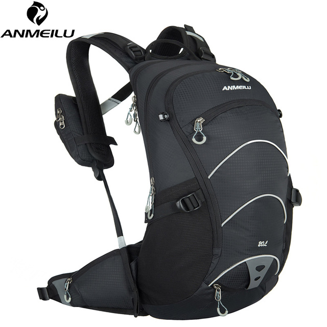ANMEILU 20L Waterproof Bicycle Backpack,Women Men Supension Cycling Backpack Outdoor Climbing Bag with Rain Cover 2 colors