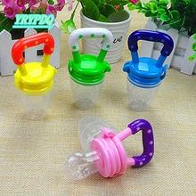 Baby Nipple 1Pcs Baby Pacifier Fresh Food Milk Nibbler Feeder Feeding Safe Baby Supplies Nippler Teat