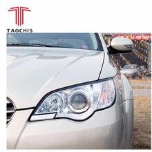 TAOCHIS автомобиля-декоративная рамка модулем адаптера DIY Кронштейн Держатель для Subaru Outback Hella 3 5 Q5 объектив проектора