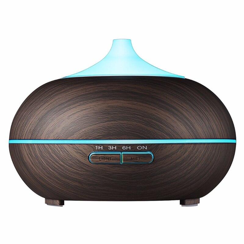 300 ml Aroma Diffuser Aromatherapy Wood Grain Essential Oil Diffuser Ultrasonic  Humidifier aromatherapy aroma mix