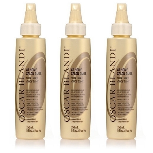 Oscar Blandi At Home Salon Glaze Shine Rinse, 5 Oz (Pack of 3) oscar blandi oscar blandi os003lucdz11
