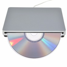 kebidu DVD CD RW Drive Burner Superdrive USB External Slot for Apple for MacBook for Mac mini