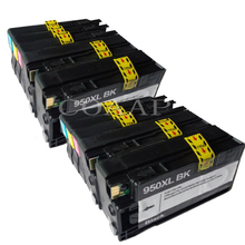 10 Pack ink cartridges for Compatible HP 950XL 951 XL OfficeJet Pro 8100 8600 8615 8625