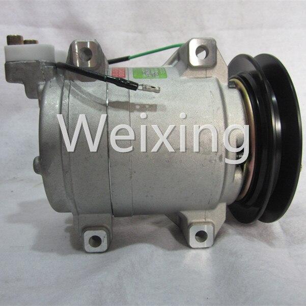 Car Air Conditioner Compressor Pump DKS15D 1PK for Hitachi Crane John Deere Excavator 24V 506012-2330 506211-7930 787b244279