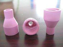 100 stück, QQ150A QS-150A wig-schweißbrenner aluminiumoxid-keramik tasse, 6*30 Düse Verbrauchsmaterialien (QQ-150A)