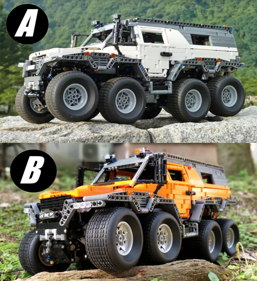 New LEPIN 23011 AB 2816Pcs Technic Off-road vehicle Model Building Block Kits Bricks Compatible MOC 5360 Toys boy brithday gifts lepin 23011 technic series off road vehicle model moc assembling building kits block bricks compatible 5360 toy educational toy