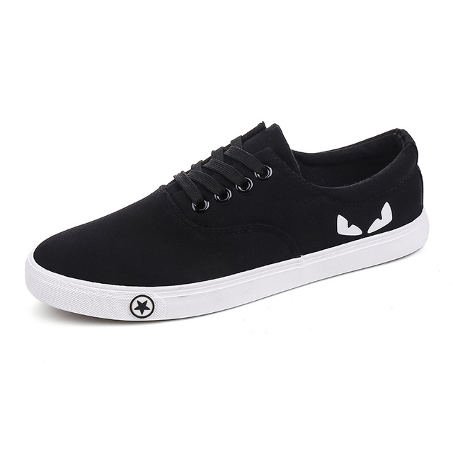 MEN casual shoe  breathable & cute with cartoon cat eyes #A553