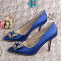 Wedopus MW353 Fashionable Women Pointed Toe High Heels Prom Party Shoes Classid