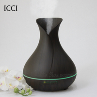 Humidifier Aroma Diffuser Essential Oil Diffuser Aroma Fragrance Oils Capacity 400ML Aroma Led Lamp Cucurbit Shape