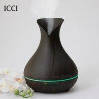 Humidifier Aroma Diffuser Essential Oil Diffuser Aroma Fragrance Oils Capacity 400ML Aroma Led Lamp Cucurbit Shape