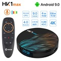 HK1 Max Android 9.0 TV Box 4GB 64GB Rockchip RK3328 1080P H.265 4K 60fps BT4.0 Google Play store Netflix Youtube Set top box