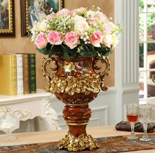 European vase restoring ancient ways originality sitting room household adornment is born large size arranged beautiful