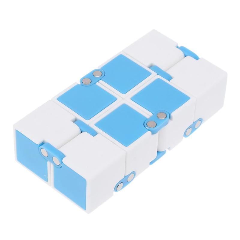 Детский кубик бесконечности, волшебный антистрессовый кубик-Спиннер, ручная головоломка, расширяющаяся рельефная игрушка для снятия стресса для детей, волшебный Спиннер для пальцев, подарок
