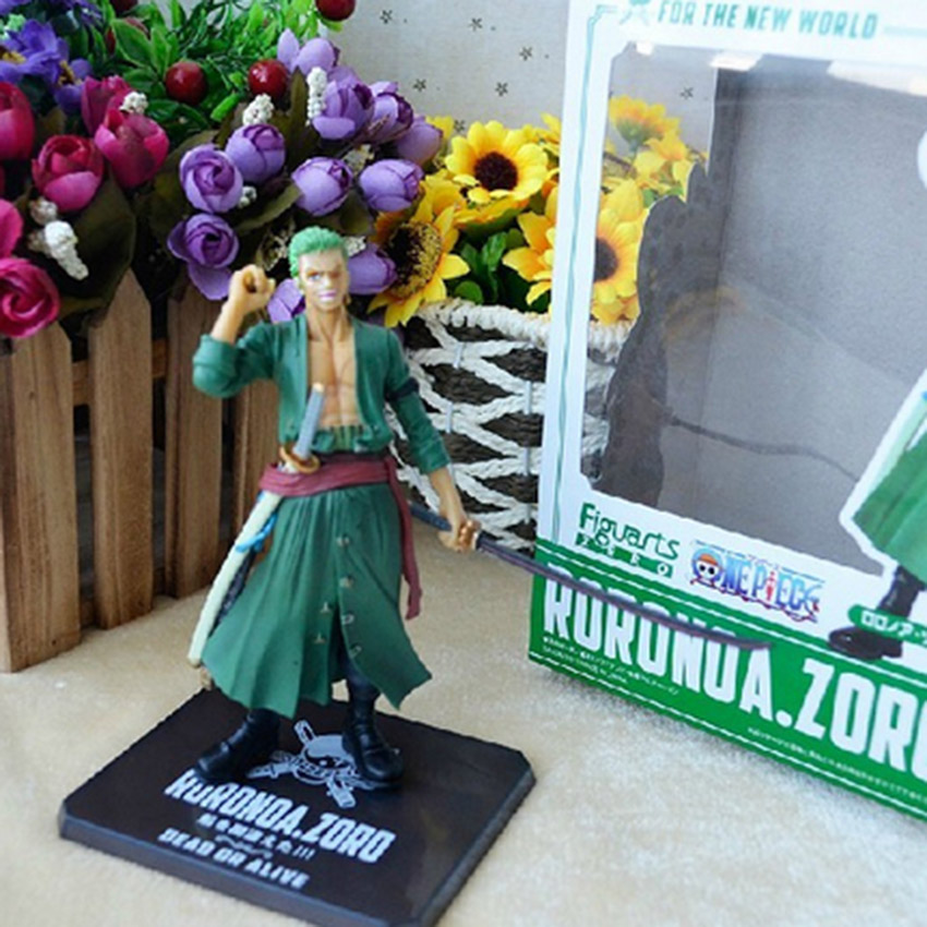 5pcs lot Anime One Piece Zoro Two Years Later One Piece PVC Action Figure Toy Doll