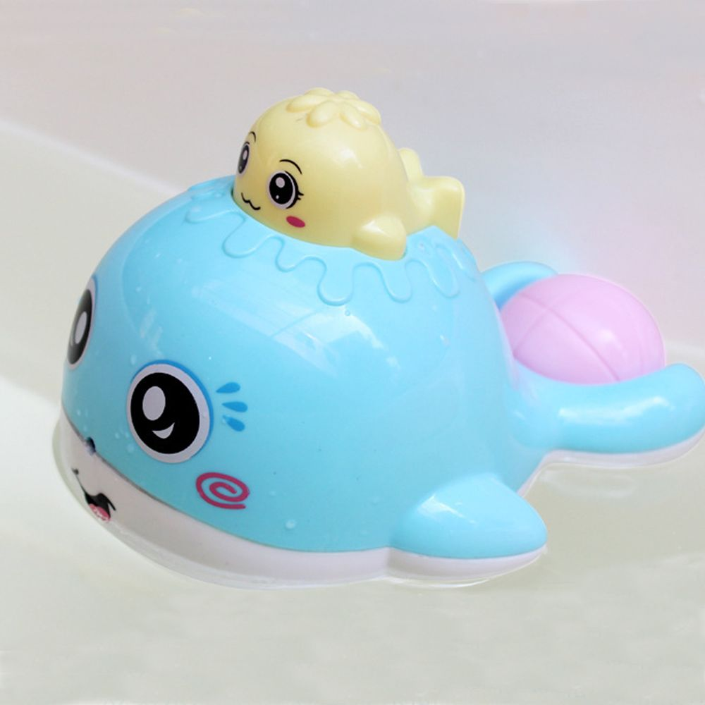 New Creative Lovely Whale Shape Water Spray Toy Baby Bath Toy ...