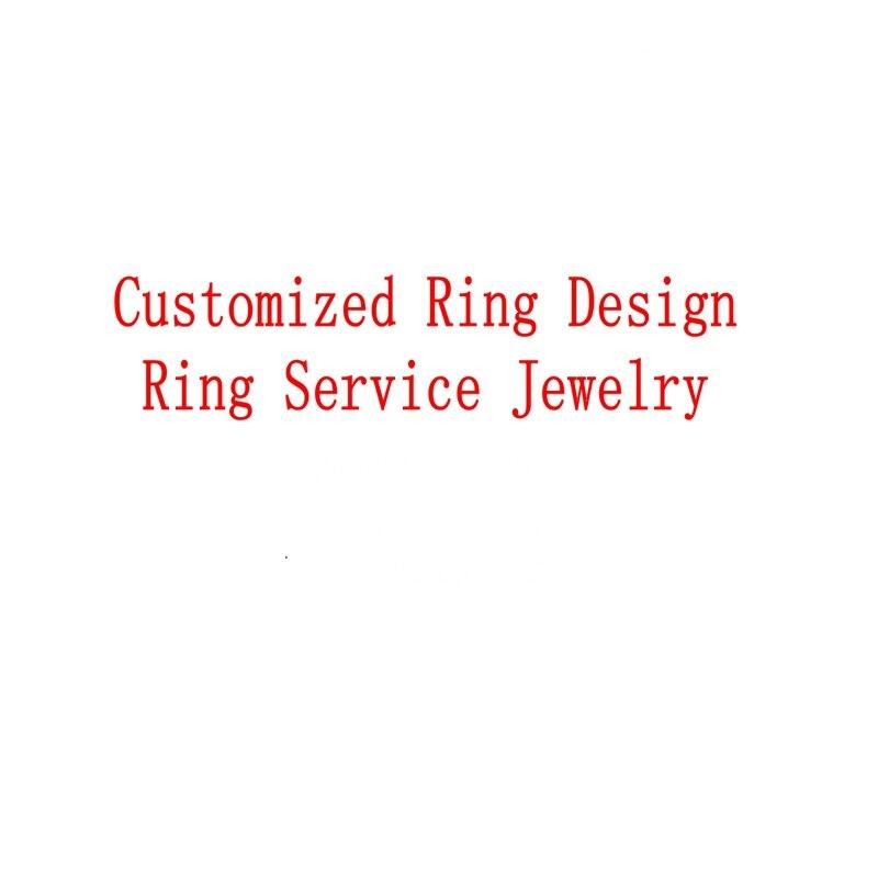 Anello personalizzato Anello di Disegno di Servizio Dei Monili-in Anelli da Gioielli e accessori su  Gruppo 1