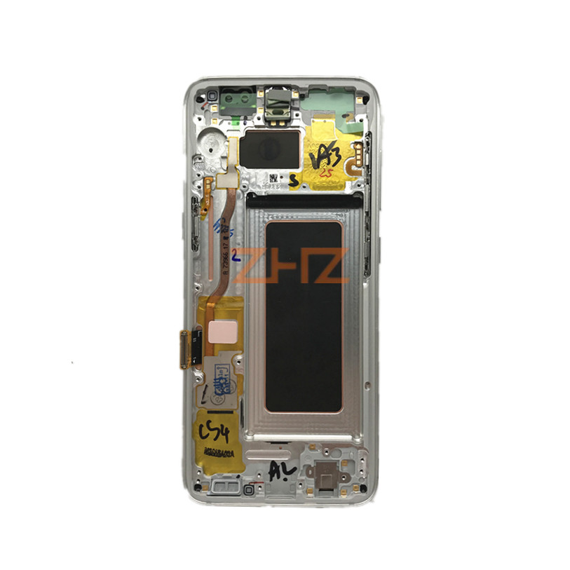 Image 4 - For Samsung Galaxy S8 G950 S8 Plus Lcd Display G955 Touch Screen Digitizer Assembly with frame Replacement Repair Parts-in Mobile Phone LCD Screens from Cellphones & Telecommunications