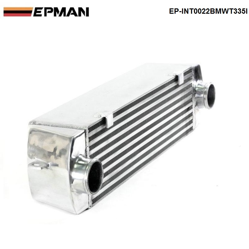 EPMAN - TURBO INTERCOOLER for BMW 135 135i 335 335i E90 E92 2006-2010 N54 EP-INT0022BMWT335I epman universal aluminum water to air liquid racing intercooler core 250 x 220 x 115mm inlet outlet 3 ep sl5046c