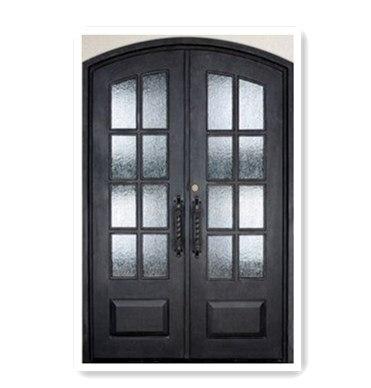 Tuscan Iron Entry Doors Wrought Iron Grill Door