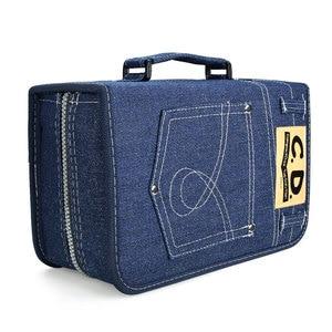 Image 5 - حقيبة جمع أقراص ymjywl CD جديدة DVD/CD سعة كبيرة 128 كم حافظة بجودة عالية للتخزين في السيارة والمنزل
