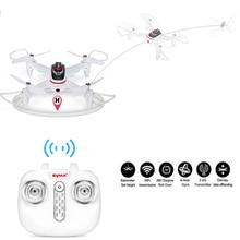 Original Syma X15W Wifi Drone FPV With 0.3MP HD Camera RC Quadcopter G-sensor Barometer Set Height Headless Mode Drone