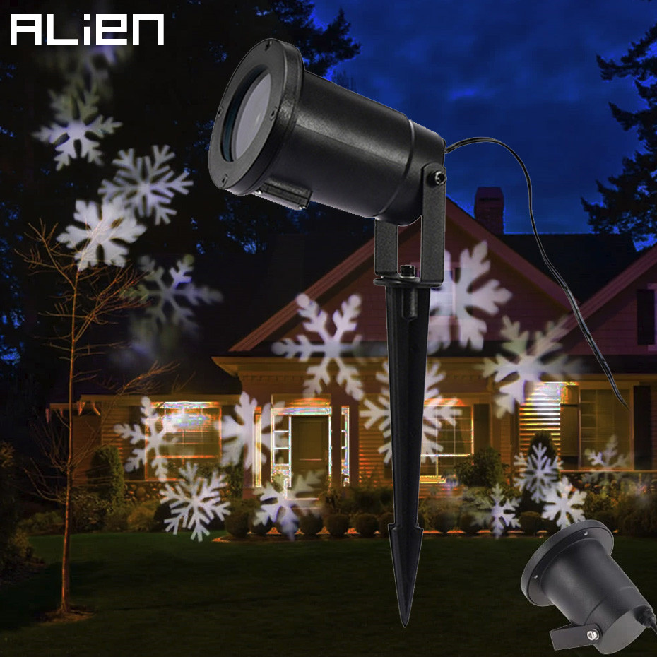 Aliexpress.com : Buy LED Snowflake Effect Lights Outdoor