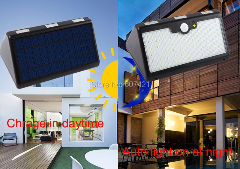 huge discount aa25e f8291 US $43.8 |9600AMH,4 Model Solar Deck LED Lights ,Aootek Waterproof Outdoor  Wireless Motion Sensor Light for Patio, Deck, Yard, Garden-in LED Panel ...